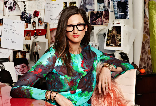 allthegirlsaremad:  So inspirational. Jenna Lyons, the Woman Who Dresses America  Absolutely adore her.  She has always been an inspiration of mine both in style and drive; it's lovely to see that she is beautiful both inside and out.