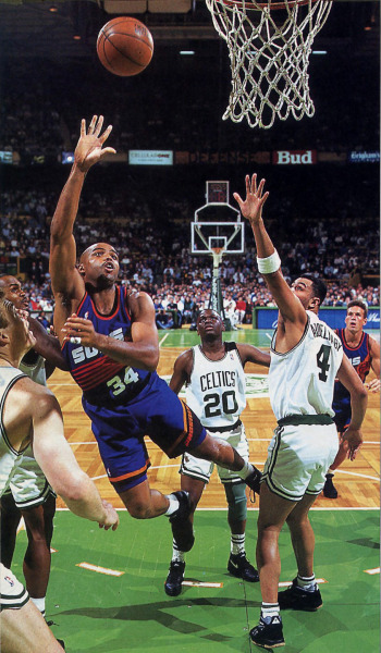 Sir Charles vs. the Celtics