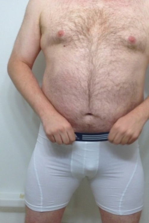 jockednstrapped4fun:White Boxer Brief PissMy 2nd attempt at experimenting with piss/water sports this time I pissed in my white boxer briefs.Yummy daddy! Woof