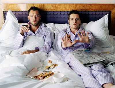 bohemea:  Jude Law & Ewan McGregor by Lorenzo Agius  Classic!