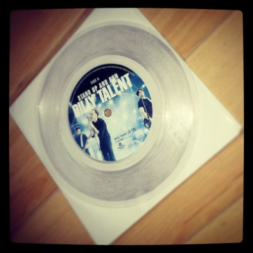 Billy Talent: stand up and run record #love #record #billytalent #standupandrun