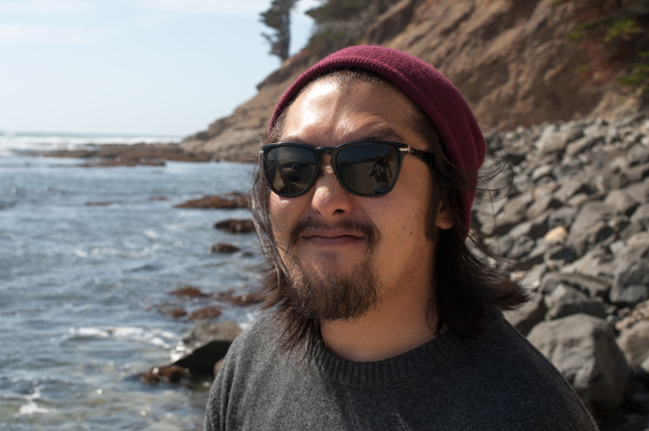 rare portrait of me. moss beach nature reserve. ca.