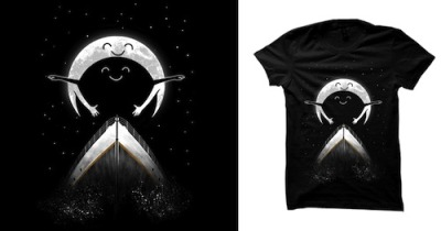 threadless:  Romantic Moon by zakiihamdanii is scoring on Threadless! Hang out with us for a while and score some design submissions!