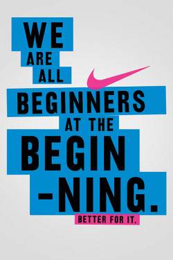 quote motivation swoosh fitspiration nike women starting line betterforit