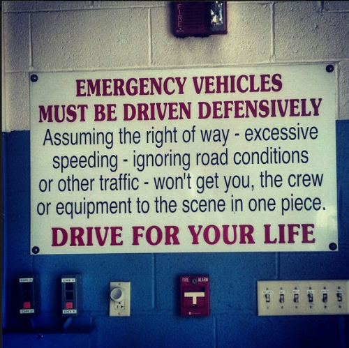 "paramedicine:  A great reminder to all EMS personnel. Source: ""Paramedics on Facebook"""