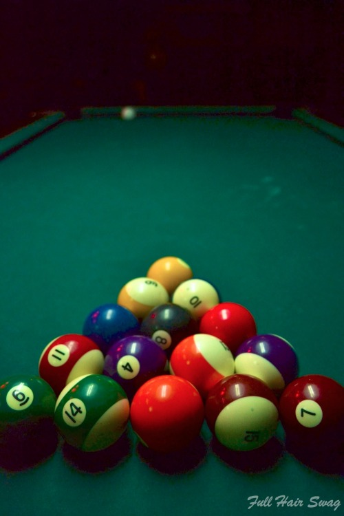 Let's play some pool.