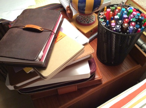 Journals, index cards, planners, notebooks…can you have too many? I think not.