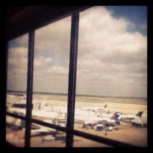 Another city, another airport, another airline. (at George Bush Intercontinental Airport (IAH))