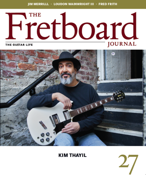 Soundgarden's Kim Thayil on the cover of the latest issue of The Fretboard Journal. (H/T GrungeReport.net)