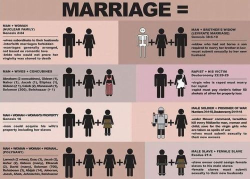 idententity:  This is acceptable BUT a homosexual marriage is not???