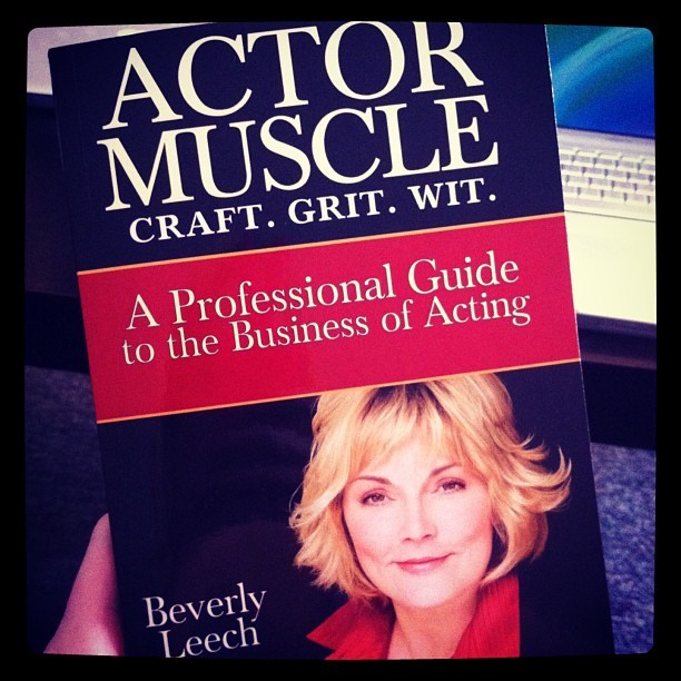 Super excited to start this book ⭐🎬📚#acting #prep #bevleech #actormuscle #la #hollywood
