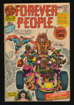 Forever People #1(Mar. 1971)