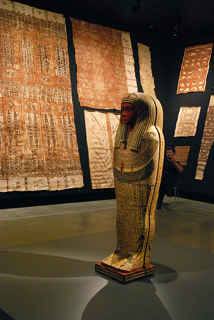 mummy on Flickr.and barkcloth's