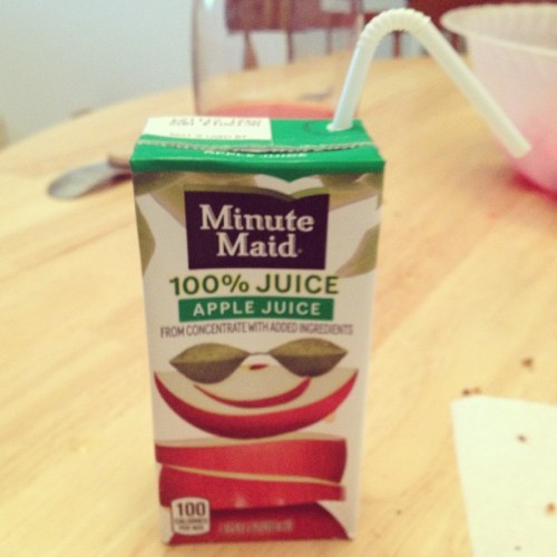 You can never get too old for juice boxes #juice #yummy #applejuice #juicebox #ilovejuice #apples