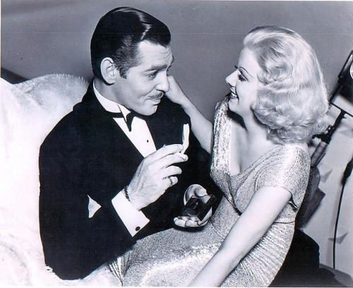 fuckyeahjeanharlow:  Gable and Harlow