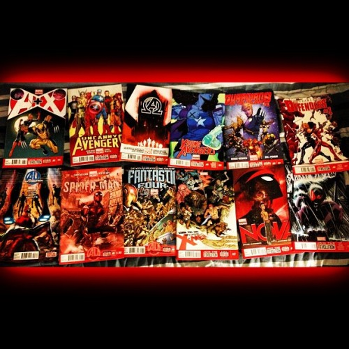 #NewComics #MarvelNow is getting expensive! Cuts are coming! #AplusX #UncannyAvengers #NewAvengers #YoungAvengers #GOTG #Nova #FearlessDefenders #ScarletSpider #SuperiorSpiderMan #WolverineAndTheXMen #FantasticFour #AgeOfUltron #AU … Whew, wipes brow. #Marvel #Comics #ComicBooks #SpiderMan #XMen #Wolverine #Nerd #Geek #GoingBroke lol