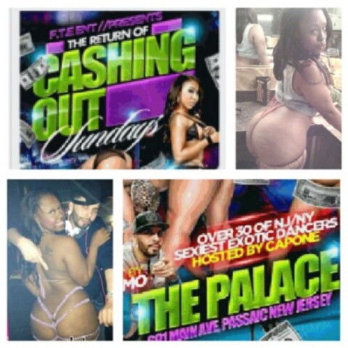 XXX STAR @CheriseRoze WILL BE AT @thepalace_nj FOR CASHING OUT SUNDAYS! @DJREYMO WILL BE IN THE MIX HOSTED BY @mrcapone01!