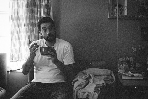 ExpiredKODAK_MAR2013-6 on Flickr.Abel, stunned. From Andy's TV and Sugar Cereal Party.  All natural light! Expired film! Great expression!