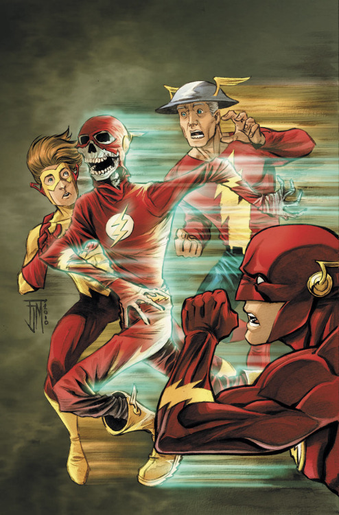 ladman:  Flash by Francis Manapul