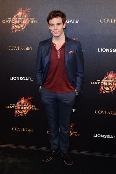 Sam Claflin attends The Hunger Games: Catching Fire Party during the 66th Annual Cannes Film Festival at Baoli Beach in Cannes, France. [May 18th, 2013]