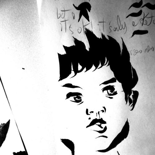 Sketch - Young MeInk on paper, December 2012.Drawing by Alessandro ScandiuzziSee more at:http://cavalcandosenzatesta.blogspot.it/or like it on Facebook