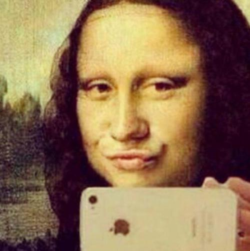 Si Mona Lisa avait eu un iPhone