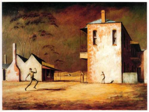 Russel Drysdale - 'The Cricketers'  My favourite Australian painting.