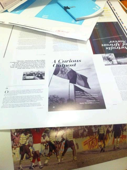 Proofs of the second issue of XI Quarterly just arrived. What do you think? You can pre-order Issue 2 (http://bit.ly/QYizOH ), or subscribe (http://bit.ly/MFuKzi ) now! Be sure sure to visit www.xiquarterly.com for more information.