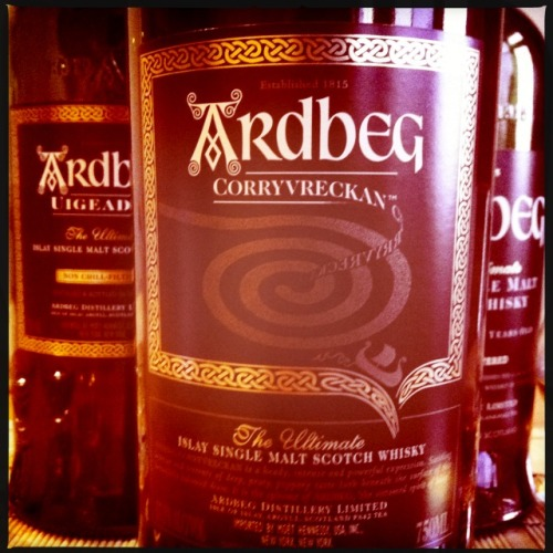 #Corryvreckan—new member of our #Ardbeg family!