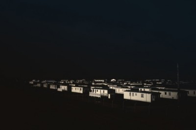 Houses floating in the darkness. Taken by the sea at Camber Sands in East Sussex.View Post