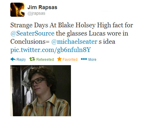 For Strange Days at Blake Holsey High fans, Jim Rapsas (Creator of Strange Days at Blake Holsey High aka Black Hole High) tweeted me this little fact today. I thought I'd share it!