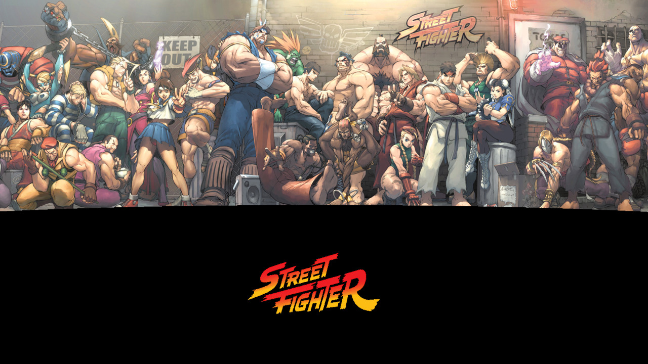 mrcheyl:  Street Fighter