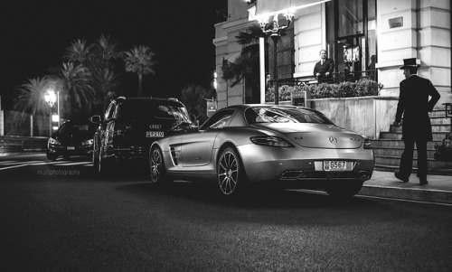 Classy on Flickr.Via Flickr: Mercedes SLS AMG @ Monte Carlo, Monaco.Like me on Facebook