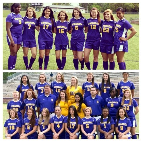 Proud to be a Lady Tiger! ❤⚽