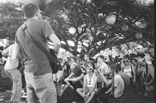Park Acoustics  Pentax ME || Ilford XP2 Super 400