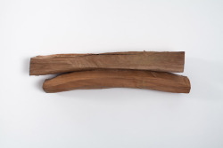 Richard Nonas Untitled (from the Cherrytree Split Series), 2011 Cherry wood 4.75 x 18 x 4 inches