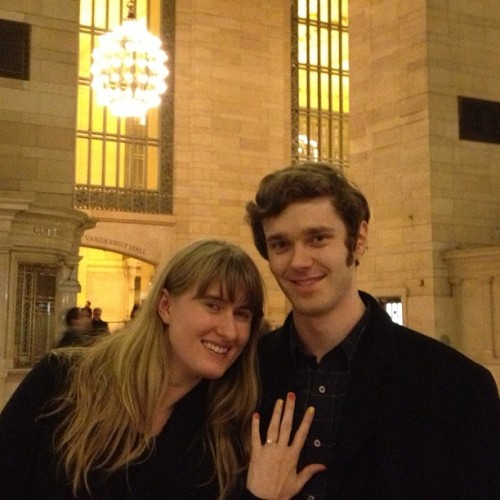 Meet my new Fiancé, @laurenkreid ! (at Grand Central Terminal)