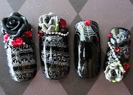 Black Rose Nails