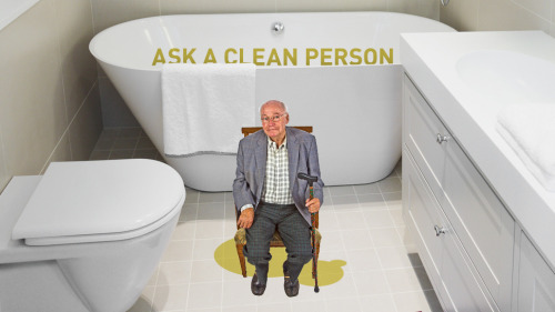 Help! How Do I Get That Old-Man-Pee Smell Out Of My Bathroom? The illustrations just get better and better and better oh my God.