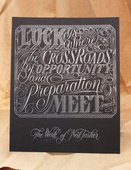 Typeverything.com - Poster by Neil Tasker (via Dribbble )