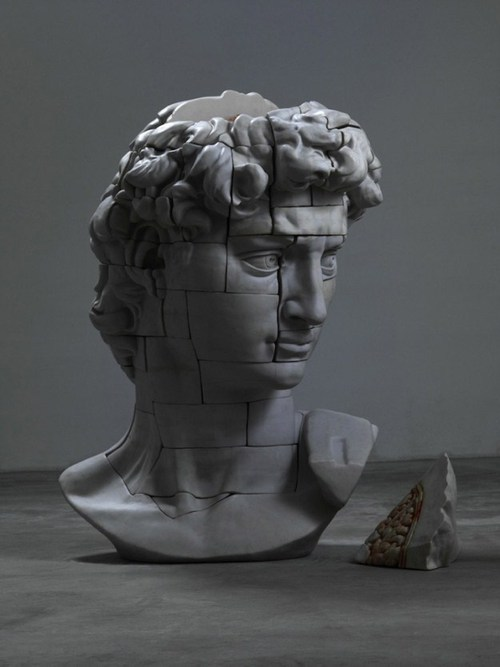 cenobiteme:  Dissected Classical Sculpture by Cao Hui