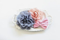 Colorful vintage-inspired hair pieces!