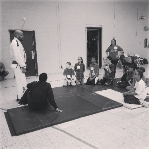 Today I got to share some my #bjj Jiu-Jitsu for this community centers Wellness Day.