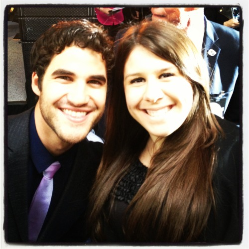 "x-inspire:  there is no one in the business as kind as mr. darren criss.  when i finally got the courage to go down to him and ask him for a picture, he was already about to move onto the next section of people. but right before he did, he saw me waiting and said ""I got you"", letting me know that he knew i was waiting and would get to me in a second. When he finally walked over to me, the security guards were giving him a hard time and trying to move him along. So he looks up at the security guard and goes: ""Man, this is the only time the fans have the chance to do this stuff. I can't."" He then turns to me and goes ""I'm just gonna be a dick and take this picture with you anyway."" lmao. He then proceeded to take as many pictures as he could with everyone, and stayed for quite some time. The man is just as kind as everyone says he is."