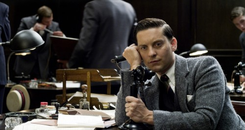 Saw The Great Gatsby last night and LET ME TELL YOU Tobey Maguire is the worst thing that has ever happened to me. 3D Forrest Gump (basically) buddy is the worst actor in the woooooorrrrrrrrrld. Also, someone take movies away from Baz Luhrman. ALSO: no Leo, you can't play 32, sorry. Googled your age Leo and the first result was a Daily Mail article saying you've morphed into Jack Nicholson. ALSO: no more shots of Jack (Leo) floating dead in a pool of water. Titanic tears for days, thanks Baz.