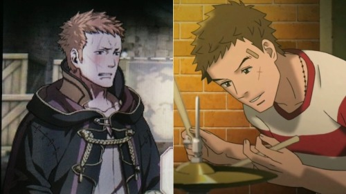 Turns out my Fire Emblem character looks exactly like Sentarō from Kids on the Slope.