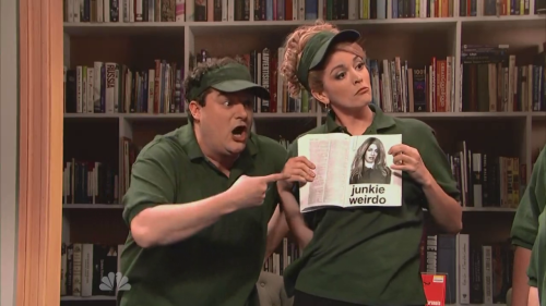 Bobby Moynihan and Cecily Strong need their own show. No matter what genere.