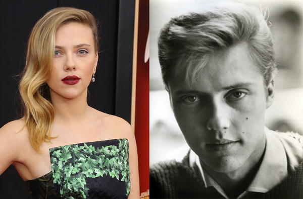 Christopher Walken, Scarlett Johansson - Young Christopher Walken Looks Exactly Like Scarlett Johans