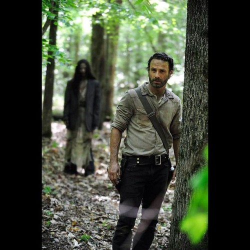 First pic from #TheWalkingDead Season 4
