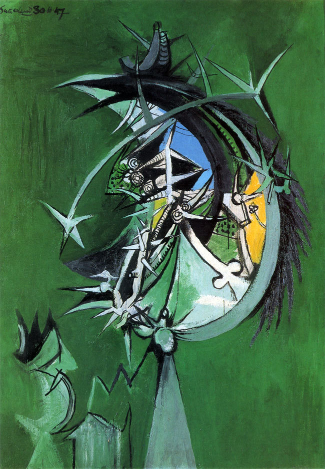 Thorn Head By Graham Sutherland, 1947